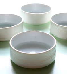 Porcelain Ice Cream Bowl Set