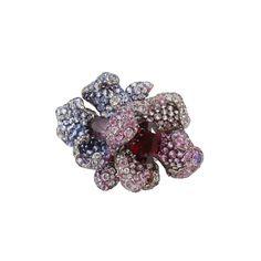 Arunashi | Multicolor Sapphire Flower Ring