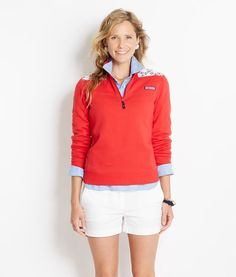 Anchor Print Shep Shirt for Women | Vineyard Vines