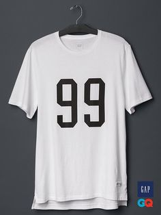 Gap x GQ STAMPD 99 T-Shirt