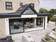 Looking for an architect for some rear extension to your home? Extension Architecture are based in London. House Extension Plans, House Extension Design, Extension Designs, Glass Extension, Roof Extension, Extension Ideas, Bungalow Extensions, Garden Room Extensions, House Extensions