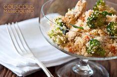 Receita couscous marroquino com legumes