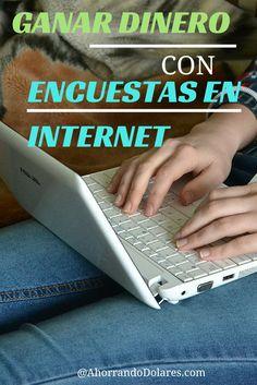 Sitios en Internet para ganar dinero completando encuestas.