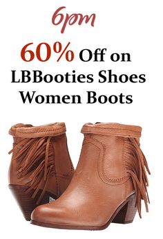 6pm is offering up to 60% discount on LB Booties Shoes Womens Boots. Order now, #offer is active on site. For more #6pm #Coupon #Codes #Fashion #Sandals #Women visit: www.couponcutcode.com/coupons/60-off-lbbooties-shoes-women-boots/