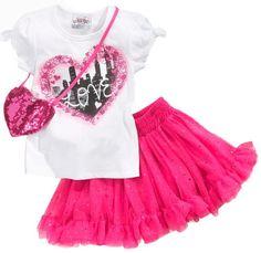 Baby Boutique Kids Set, Little Girls Shirt and « Clothing Impulse