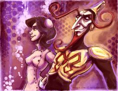 The Monarch and Dr Girlfriend by SpookyChan.deviantart.com on @DeviantArt