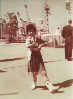 """*m. adoring-annette: """" Annette Funicello candid at Disneyland, c. 1955. """""""