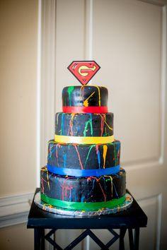 Real Wedding Wednesday ~ It's a Bird, It's a Plane, It's Diana & Kyle's Superhero Wedding!!!!