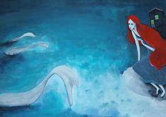 The litte mermaid (illustraion)