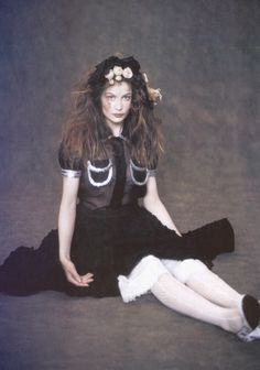 "Laetitia Casta in ""Magic Beauty"" by Paolo Roversi for Vogue Italia February 2005"