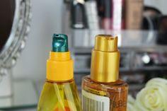 Óleos: Elseve L'Oréal e Fructis Garnier (como eu uso) | Blog da Ana