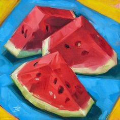 Watermelon by David Bates