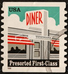 old time diner - Google Search