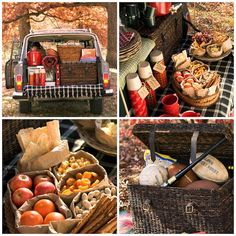 Pack up the car and #travel for a day trip in search of the perfect #fall #picnic