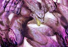 #Kyubi #Susanoo by Abz-J-Harding on deviantART