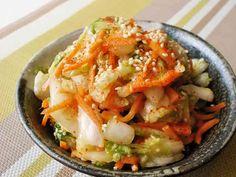 白菜タップリもりもり!白菜と人参サラダの画像