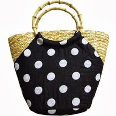 My Bags, Purses And Bags, Straw Tote, Basket Bag, Fabric Bags, Summer Bags, Little Bag, Knitted Bags, Casual Bags