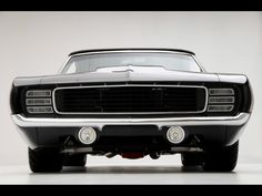 1969 Chevrolet Camaro Convertible Supercar by Modern Muscle - Front - 1280x960 - Wallpaper