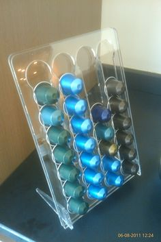 1000 images about laser cut on pinterest tord boontje laser cut acrylic a - Nespresso distributeur capsules ...
