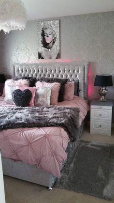 Room Design Bedroom, Small Room Bedroom, Room Ideas Bedroom, Luxury Rooms, Luxurious Bedrooms, Bedroom Decor For Teen Girls, Stylish Bedroom, Cozy Room, Room Inspiration