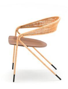 Living Divani chair by David Lopez Quincoces at iSaloni 2015 @livingdivani @isaloni