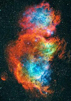 Soul Nebula #Universe | http://exploringuniversecollections.blogspot.com