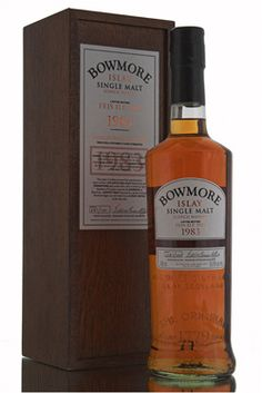 Another very rare release from Bowmore to celebrate the 2011 Feis Ile. With only 100 bottles filled from a sherry hogshead single cask, this very special whisky is very rare and highly sought after. http://www.abbeywhisky.com/bowmore-1983-feis-ile-2011-100-limited-release.html#