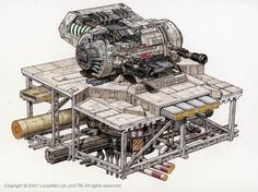 Star Wars Cutaway: DBY-827 Heavy Dual Turbolaser Turret
