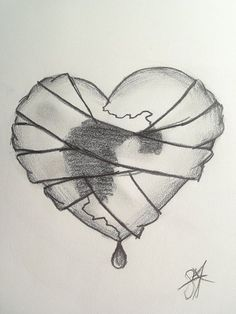 Image result for things to draw when your heartbroken