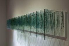 Nobuhiro Nakanishi, Layer drawing - Snow, 2013, JOYCE GALLERY, Pechino