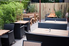 Spent a great summers afternoon in this surprising place London Places, Beer Garden, Al Fresco Dining, Outdoor Furniture Sets, Outdoor Decor, Moth, Garden Design, Design Inspiration, Patio
