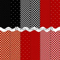 A personal favorite from my Etsy shop https://www.etsy.com/listing/168266639/60-off-red-polka-dot-digital-paper-red