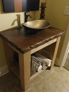 Bathroom Vanity Rustic With Copper Vessel Design, Pictures, Remodel, Decor and Ideas - page 18