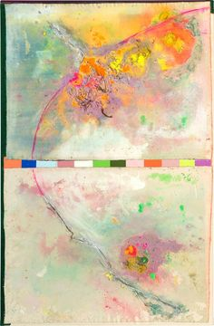 Frank Bowling is a Guyana-born British artist. His paintings relate to Abstract expressionism, Colour Field painting and Lyrical Abstraction. Map Painting, Oil Painting On Canvas, Painting Abstract, Tate Britain, Royal College Of Art, Great Paintings, Oil Paintings, Abstract Canvas, The Guardian
