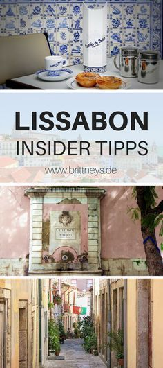 12 Lisbon Sights Insider Tips v. Brittney& travel tips for your . - 12 Lisbon Sights Insider Tips v. Brittney& travel tips for your Lisbon trip. Make your vacati - Europe Destinations, Lisbon Sights, Travel Goals, Travel Tips, Travel Hacks, Travel Advice, Travel Ideas, Reisen In Europa, Holiday Places