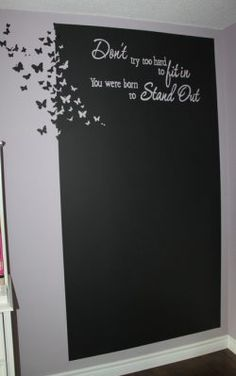 Did you ever envision chalkboard as pretty as this one? – MiniOwls.com