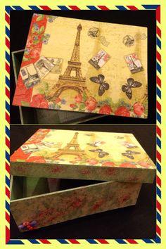 Decupage caja Paris www.facebook/opilandia