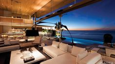 ZA Boma: A contemporary residence on the slopes of Lions Head, overlooking the Atlantic coastline.