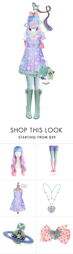 """Alien Lolita"" by everysimpleplan ❤ liked on Polyvore featuring Vivienne Westwood and Tarina Tarantino"