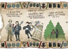 See A Millennium of History from Doctor Who in One Glorious Place