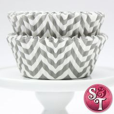 Great website to find chevron supplies for a baby shower. gray&pink chevron cupcake liners/chevron straws/chevron favor bags  @Lynn Sams has just what we are looking for :)
