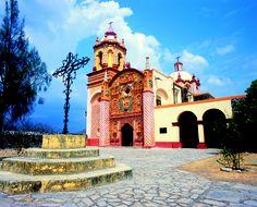 Misión de San Miguel Arcángel de Concá, -Franciscan Missions of the Sierra Gorda-, Arroyo seco, Queretaro, Mexico