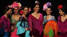 Comienza la Feria de Abril: las nuevas tendencias en la moda flamenca según el SIMOF