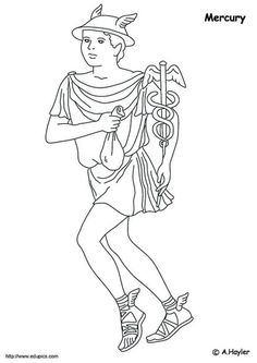 coloring page Roman era on Kids-n-Fun. At Kids-n-Fun you will always find the nicest coloring pages first! Free Coloring Sheets, Cool Coloring Pages, Roman Era, Greek Gods, Medieval Fantasy, Greek Mythology, Roman Empire, Wicca, Images
