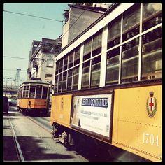 Chasing Tram Milano