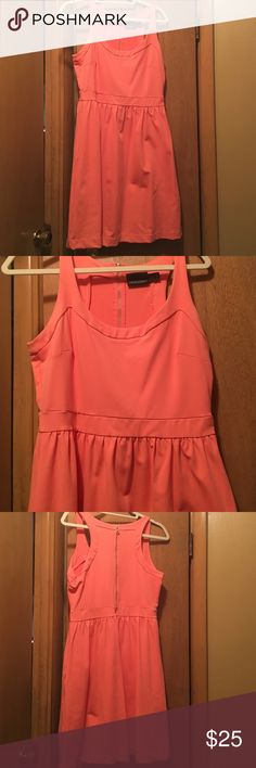 Coral Pink Dress NEVER WORN CORAL PINK DRESS! Great material! Cynthia Rowley Dresses