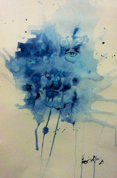 Bluman. Din A3 Héctor Torres. #portrait #drawing #retrato #dibujo #ink