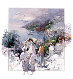 An Unforgettable View by Willem Haenraets - art print from King & McGaw