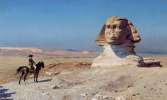 Jean-Léon Gérôme 003 - Great Sphinx of Giza - Wikipedia