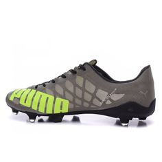 Barato Puma evoSPEED 1.4 SL FG Gris Verde Botas De Futbol Puma Football Boots, Football Soccer, Soccer Shoes, Soccer Cleats, Messi And Neymar, Mythology, Baby Shoes, Footwear, Adidas